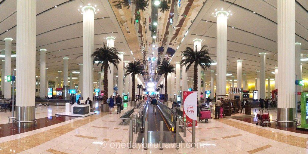 Escale à Dubai aeroport
