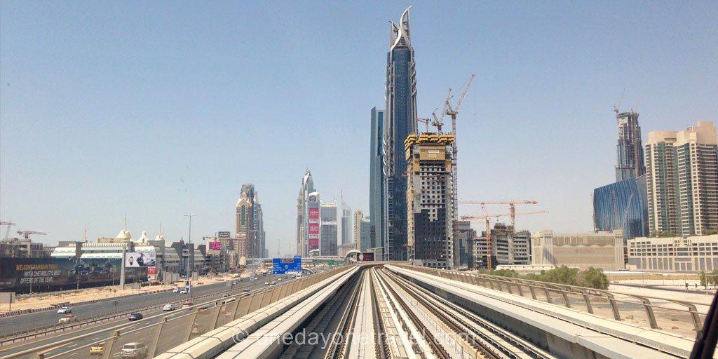 Escale à Dubai metro