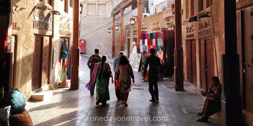Escale Dubai old souk