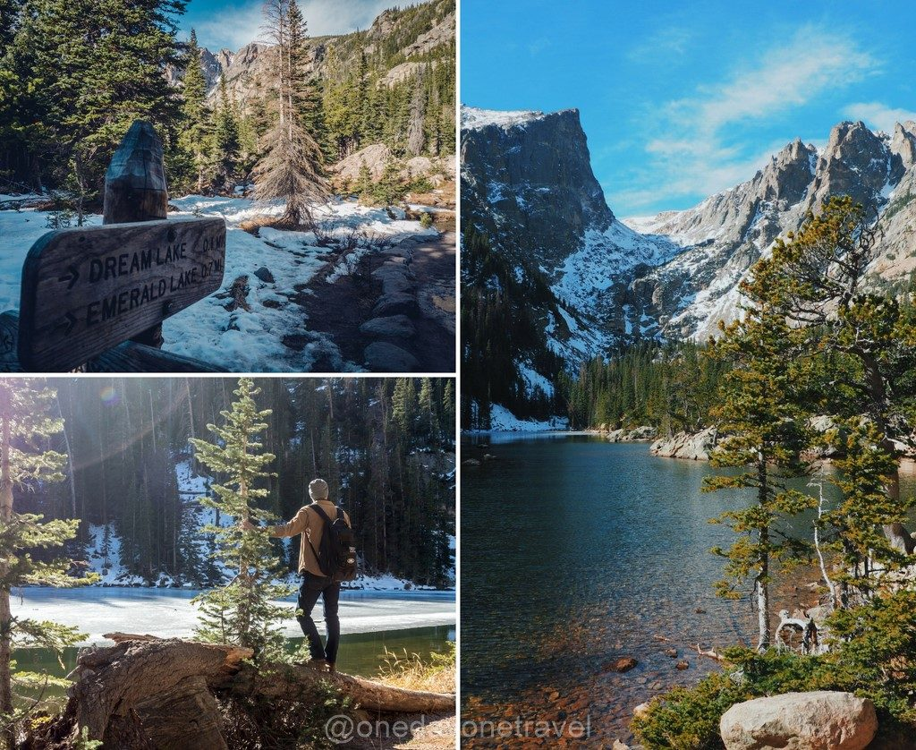 Estes Park Rocheuses Dream Lake