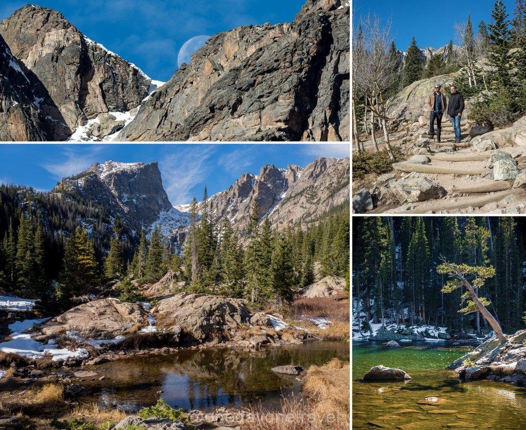 Estes Park Rocheuses lake trail