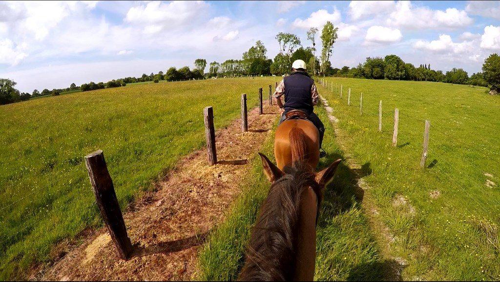 Eure Rando cheval blog voyage