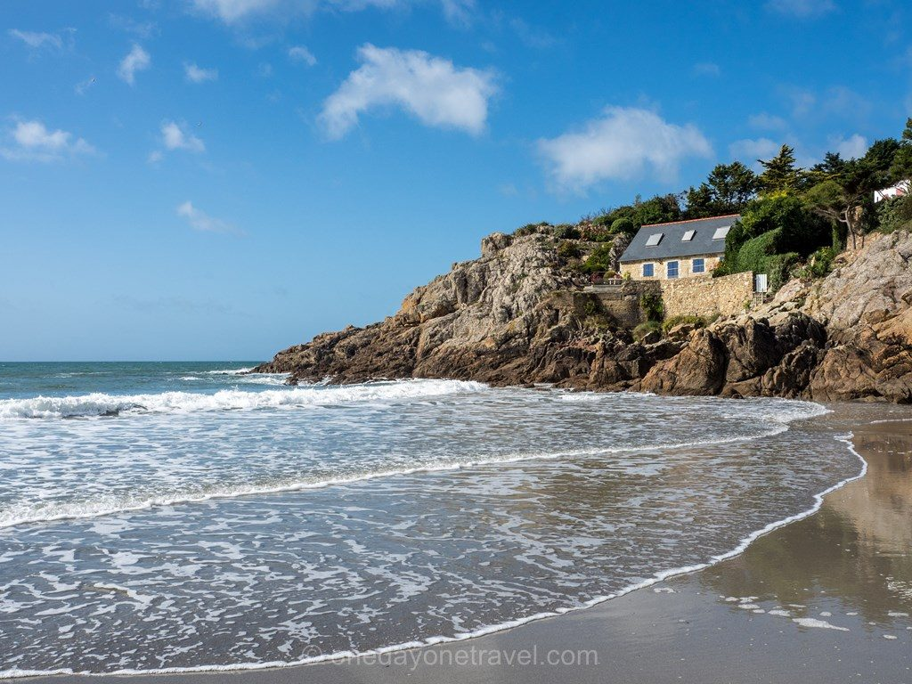 Finistere Bretagne plage anse Rospico