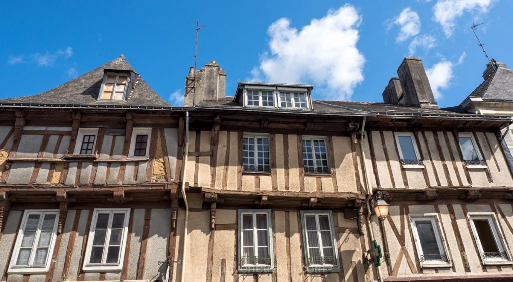 Finistere Bretagne architecture Quimperlé