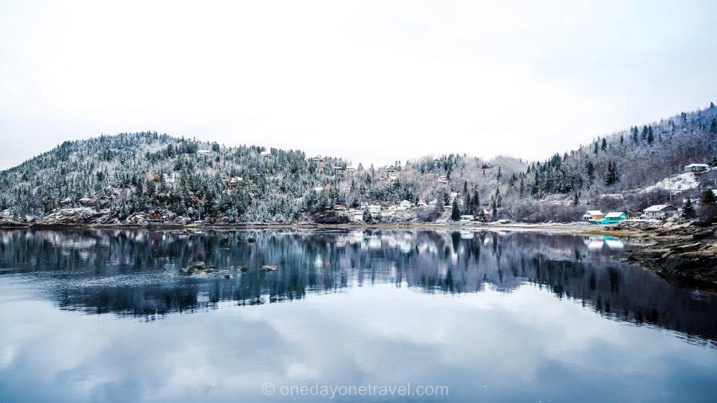 Fjord du Saguenay Sainte Rose du Nord