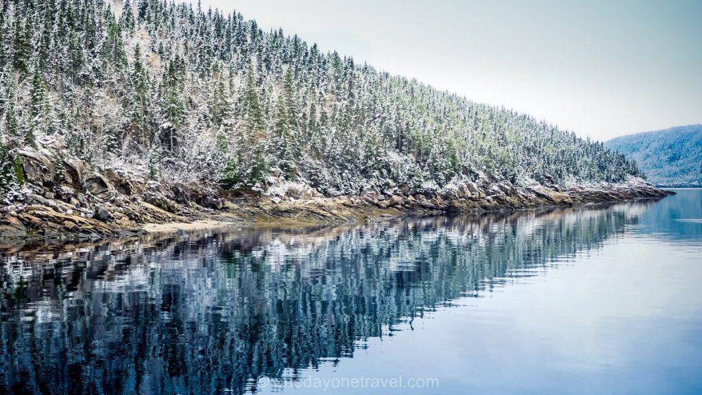 Fjord du Saguenay petit matin