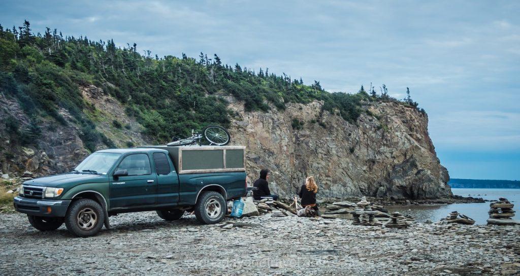 Fundy plage Nouveau-Brunswick Canada