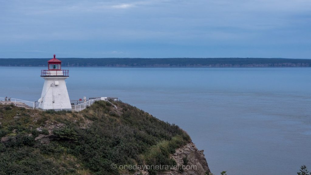Fundy Nouveau-Brunswick Canada phare