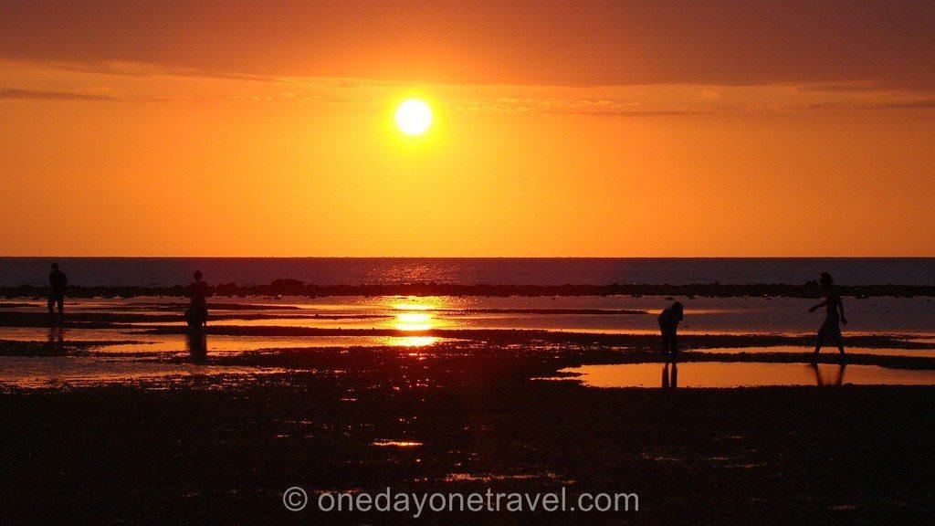 Gili Trawangan plage coucher soleil 3