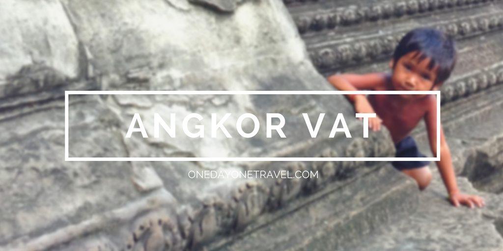 Guide voyage pour visiter le temple d'Angkor Vat au Cambodge