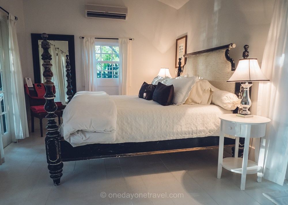 Harbour island Bahamas chambre hotel blog voyage