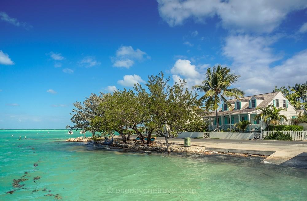 Harbour island Bahamas mer