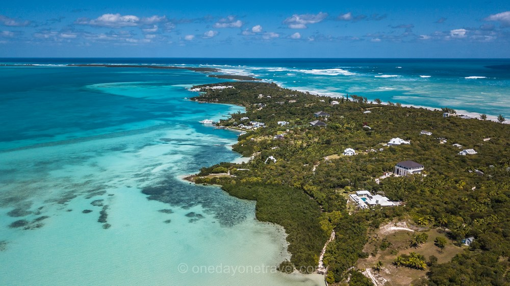 Harbour Island Bahamas mer drone