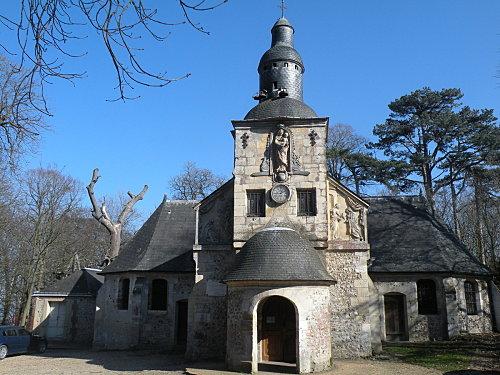 Honfleur et la chapelle de la Côte de Grace
