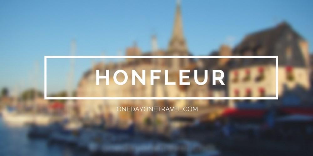 Visiter Honfleur et son port - Vignette blog voyage OneDayOneTravel