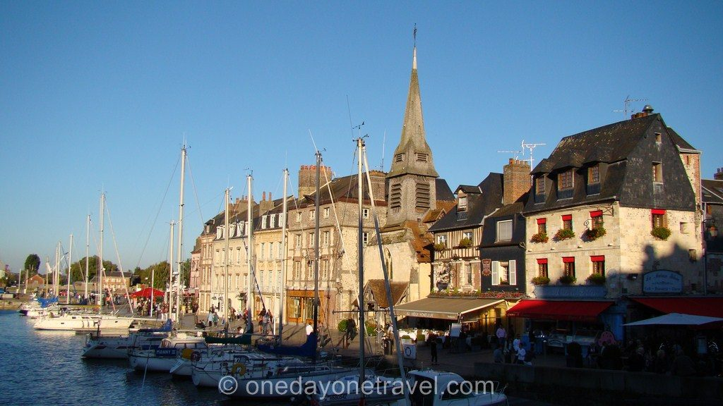 Honfleur Port - Blog voyage OneDayOneTravel