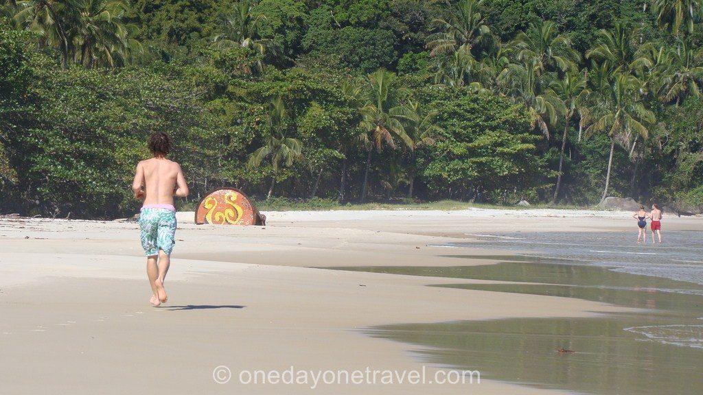 Ilha Grande course plage