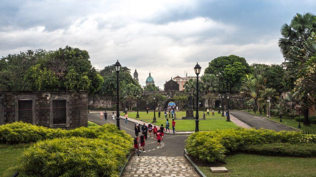Visiter Manille Intramuros