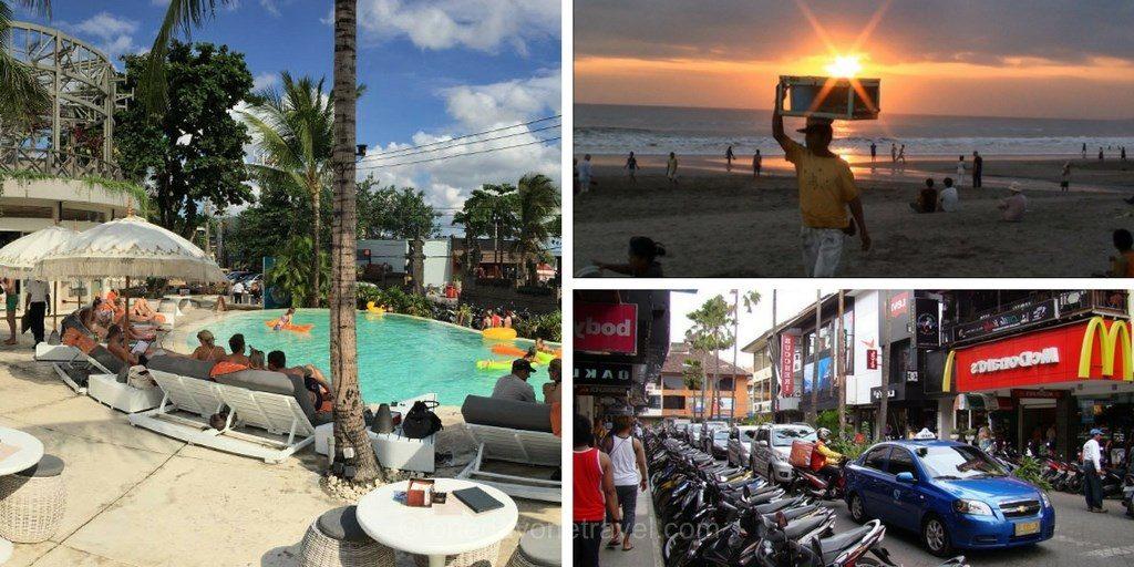 Itinéraire à Bali Lombok Kuta Bali