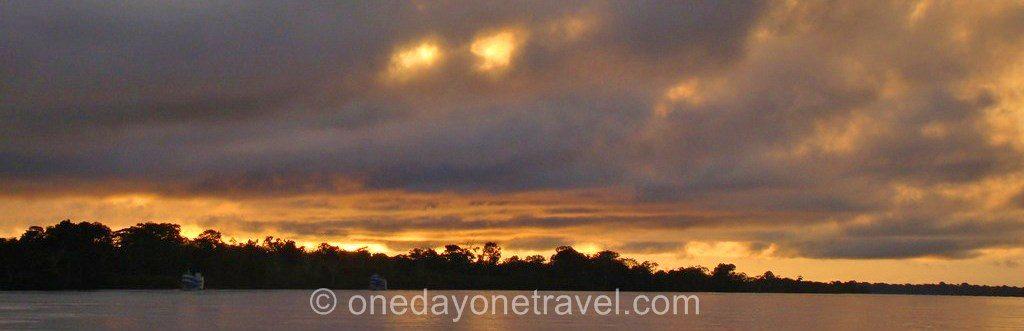 Itinéraire au Brésil Amazonie sunrise blog voyage OneDayOneTravel