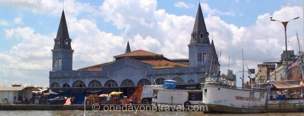 Itinéraire Brésil Belem église blog voyage OneDayOneTravel