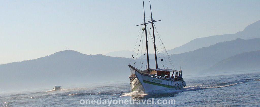 Itinéraire Brésil Ilha Grande bateau blog voyage OneDayOneTravel