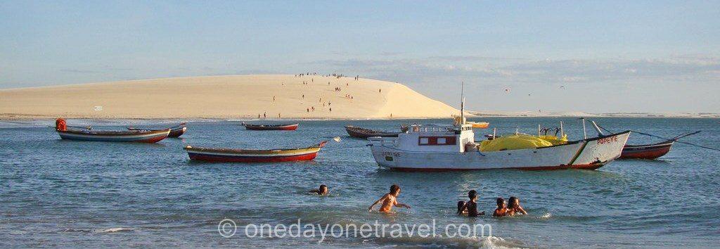 Itinéraire Brésil Jericoacoara dune blog voyage OneDayOneTravel