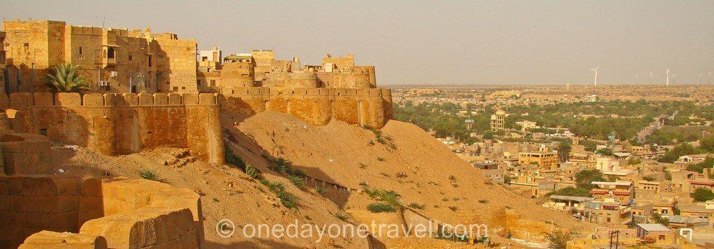 Jaisalmer rajasthan citadelle