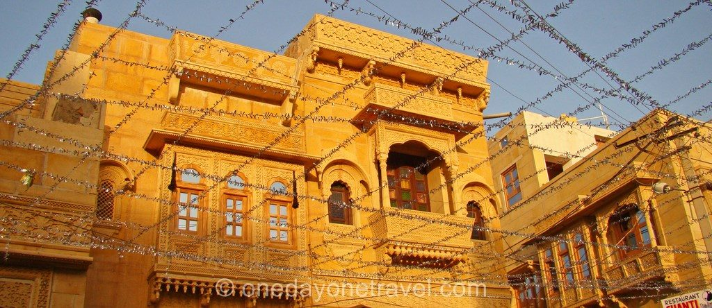 Jaisalmer rajasthan citadelle sunset