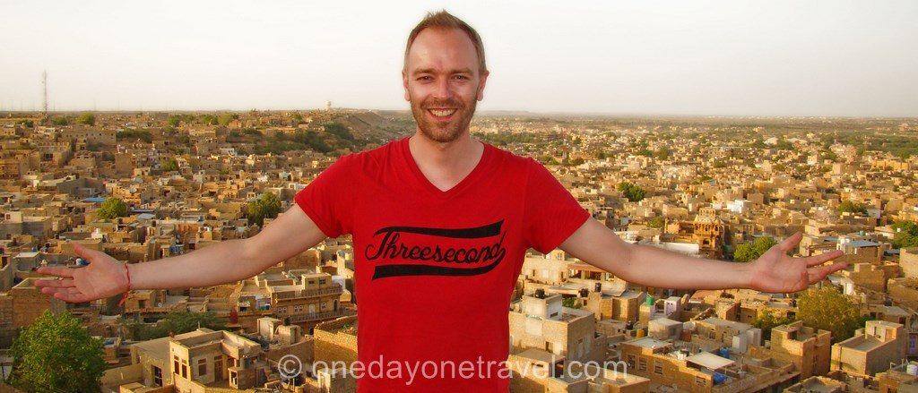Jaisalmer rajasthan citadelle richard