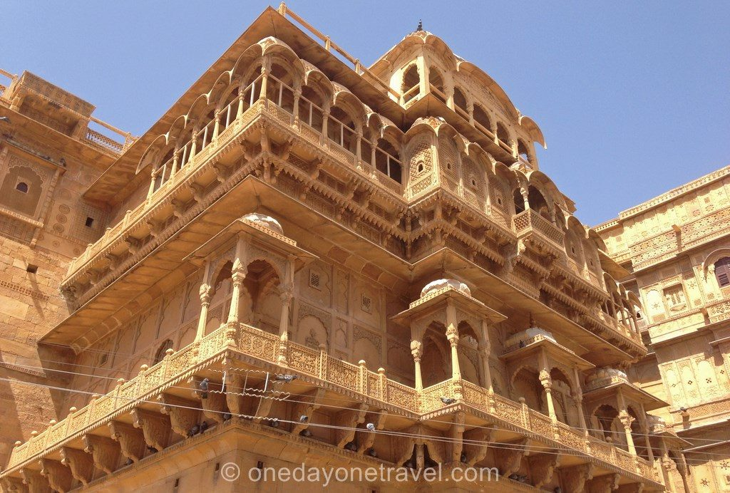 Jaisalmer rajasthan haveli architecture