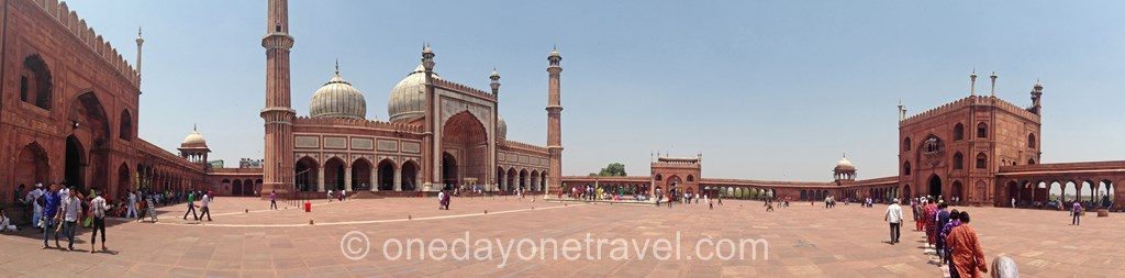Jama Masjid mosquée old delhi