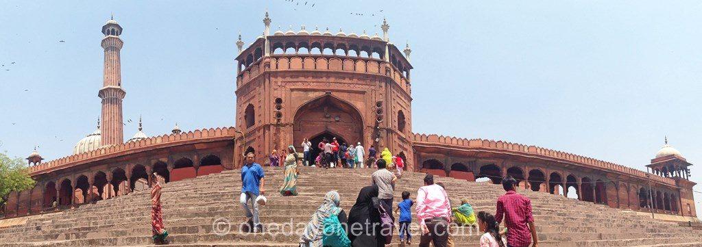 Jama Masjid mosquée old delhi 3