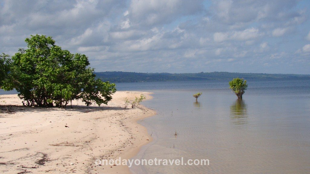 Jamaraqua Tapajos Amazone plage