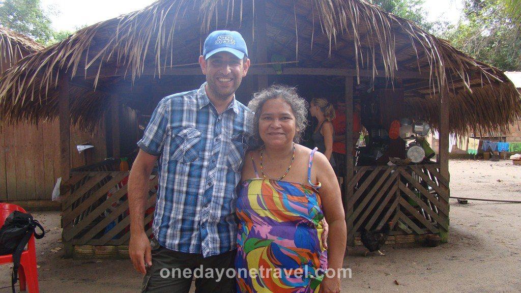 Jamaraqua Tapajos Amazone tribu
