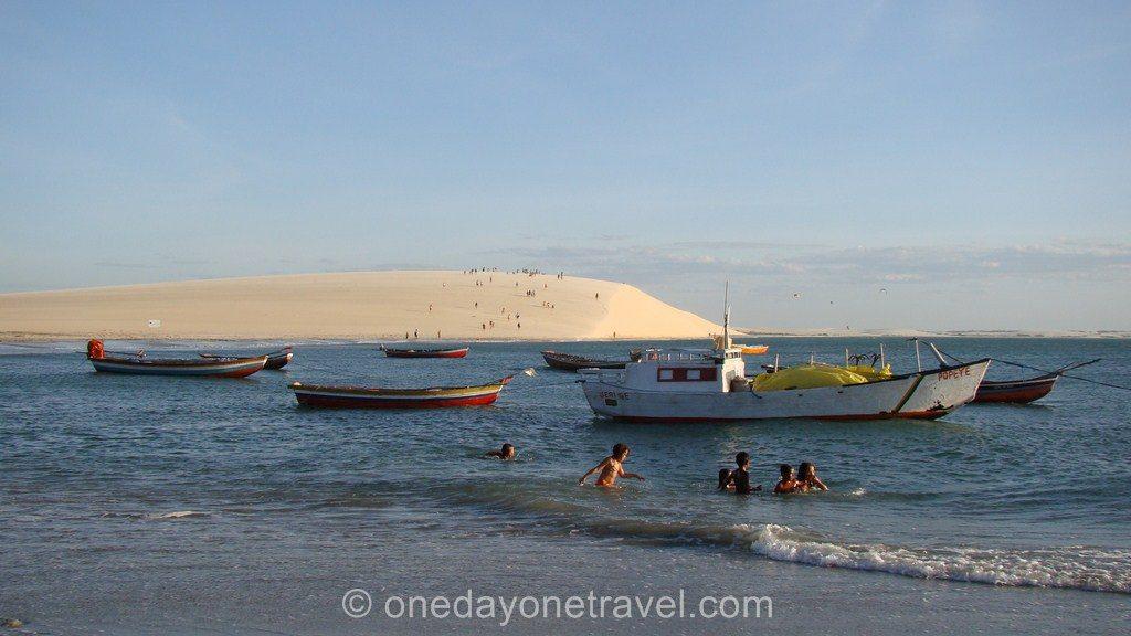 Jericoacoara bresil blog voyage dune sunset