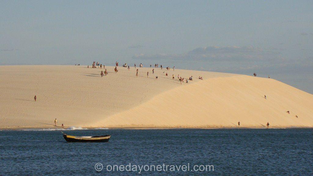 Jericoacoara bresil plage dune
