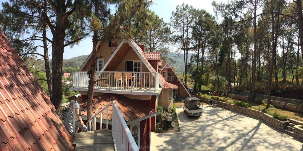 Kalaw pine woods hotel Birmanie