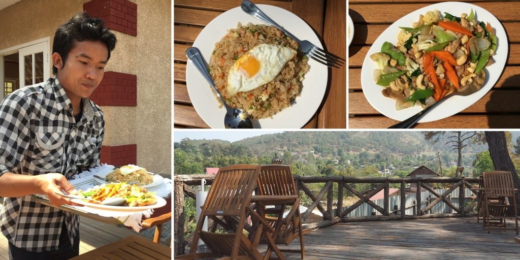 Kalaw pine woods repas hotel