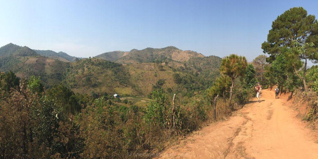Kalaw trek randonnée Myanmar