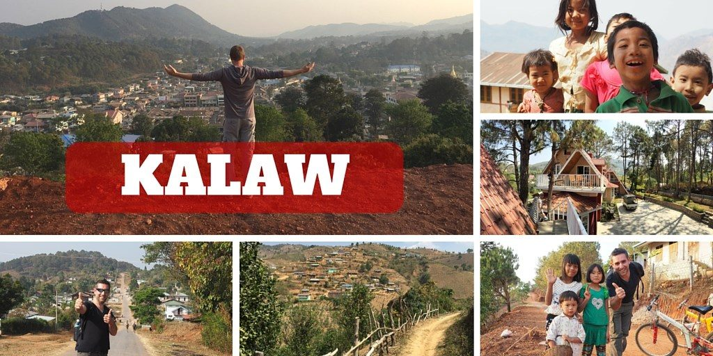 Kalaw voyage Myanmar itineraire birmanie