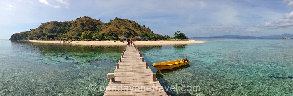 Kanawa island Flores Island