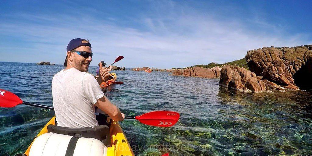 Kayak de mer Corse du sud Richard