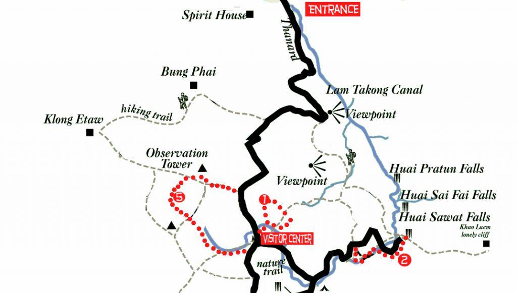 Khao Yai parc plan