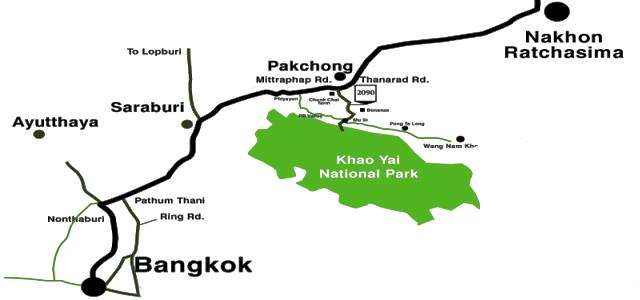 Carte Randonnee Thailande.Visite Du Parc De Khao Yai En Thailande Recit Et Conseils