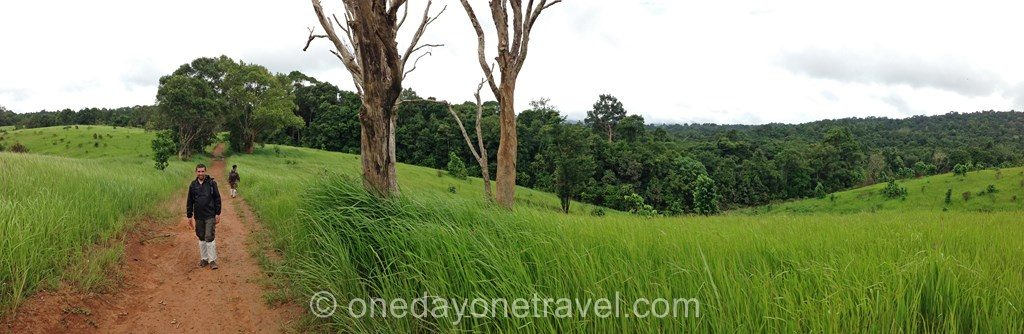 Khao Yai trek randonnée parc thaïlande