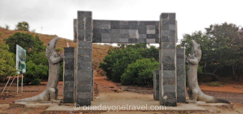 Komodo island Flores Indonésie parc