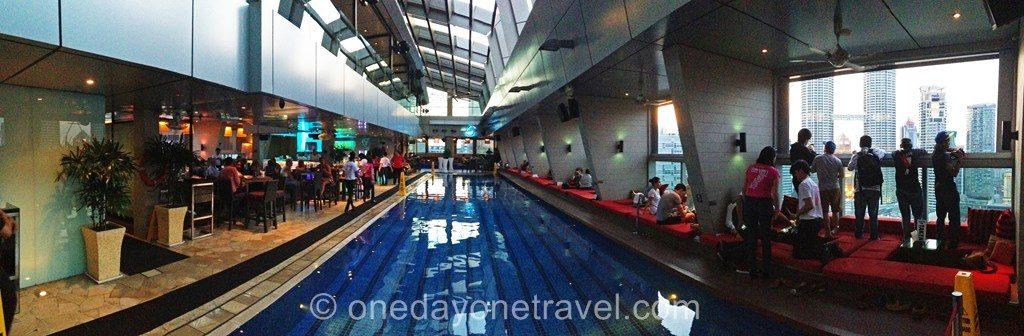 Kuala Lumpur Hotel Traders Skybar piscine