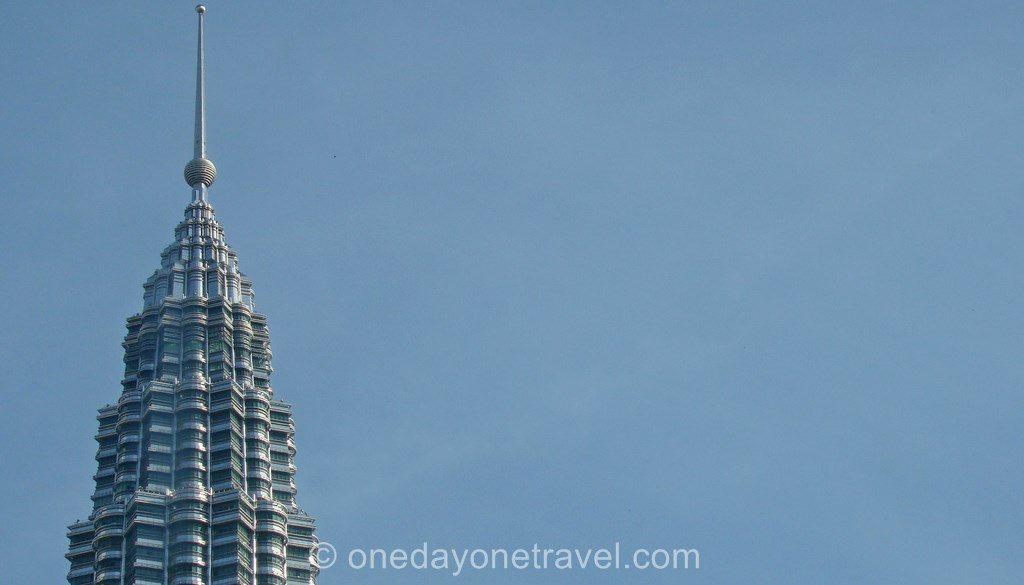 Kuala Lumpur Petronas towers blog de voyage
