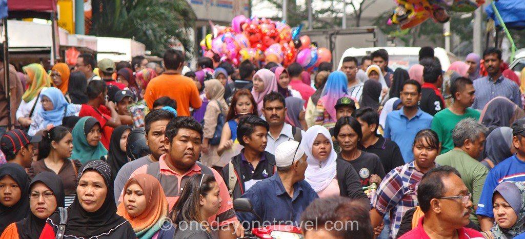 Kuala Lumpur quartier indien foule